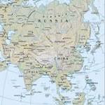 Asien karta