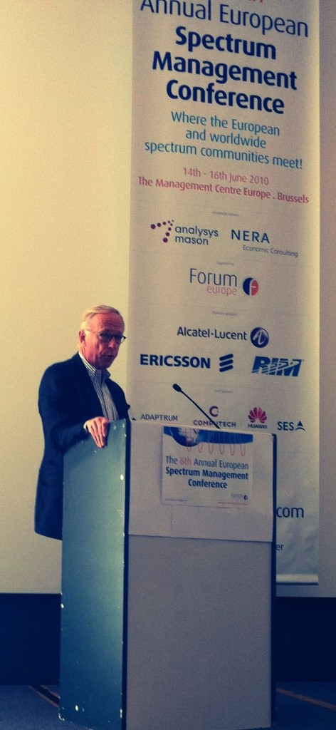 Key note speech at the 6th Annual European Spectrum Management Conference
