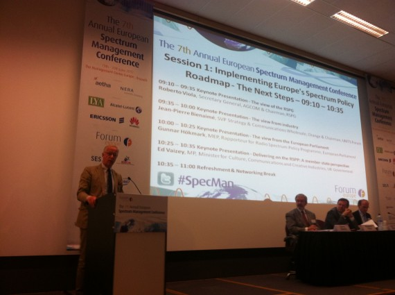 Speech at the 7th Annual EU Spectrum Management Conference