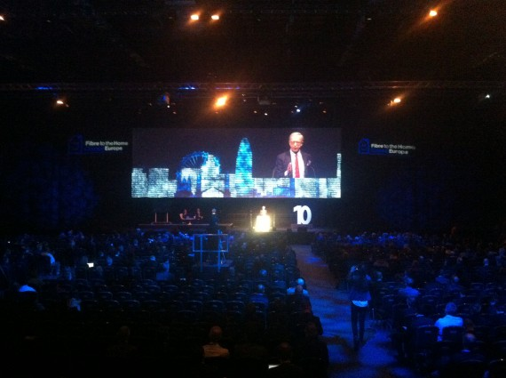 Opening speech at the Fiber-to-the-Home conference, London
