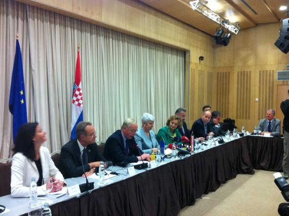 Pressmeddelande: Kroatien redo för medlemskap